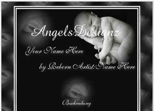 Template Angel Reborn Baby in my Hand
