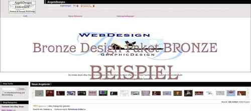 Shop Design Bronze Paket