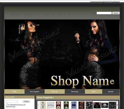 Shop Design Flash Layout Mode Fashion