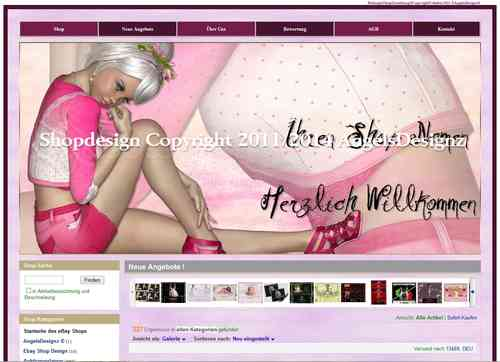 Shop Design Pink Fashion