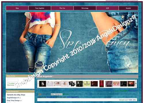 Shop Design Jeans Fashion