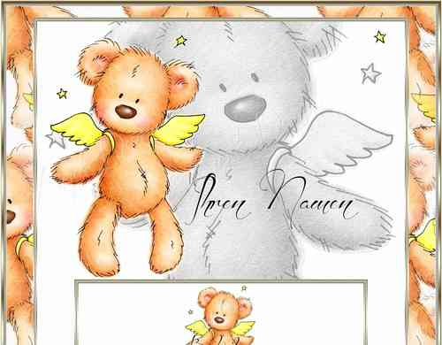 eBay Vorlage Teddy Angel