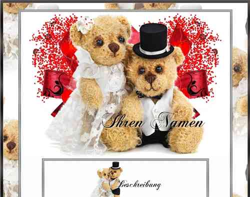 Teddy Wedding