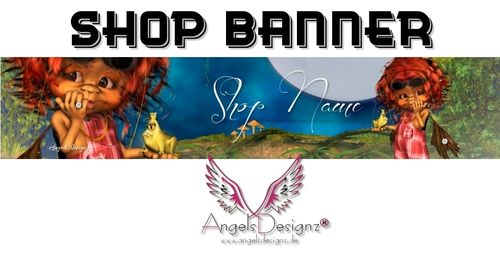 Banner Logo It's Magic personalized with your name