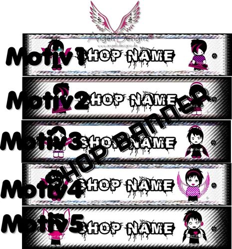 Shopbanner RockStar with your name