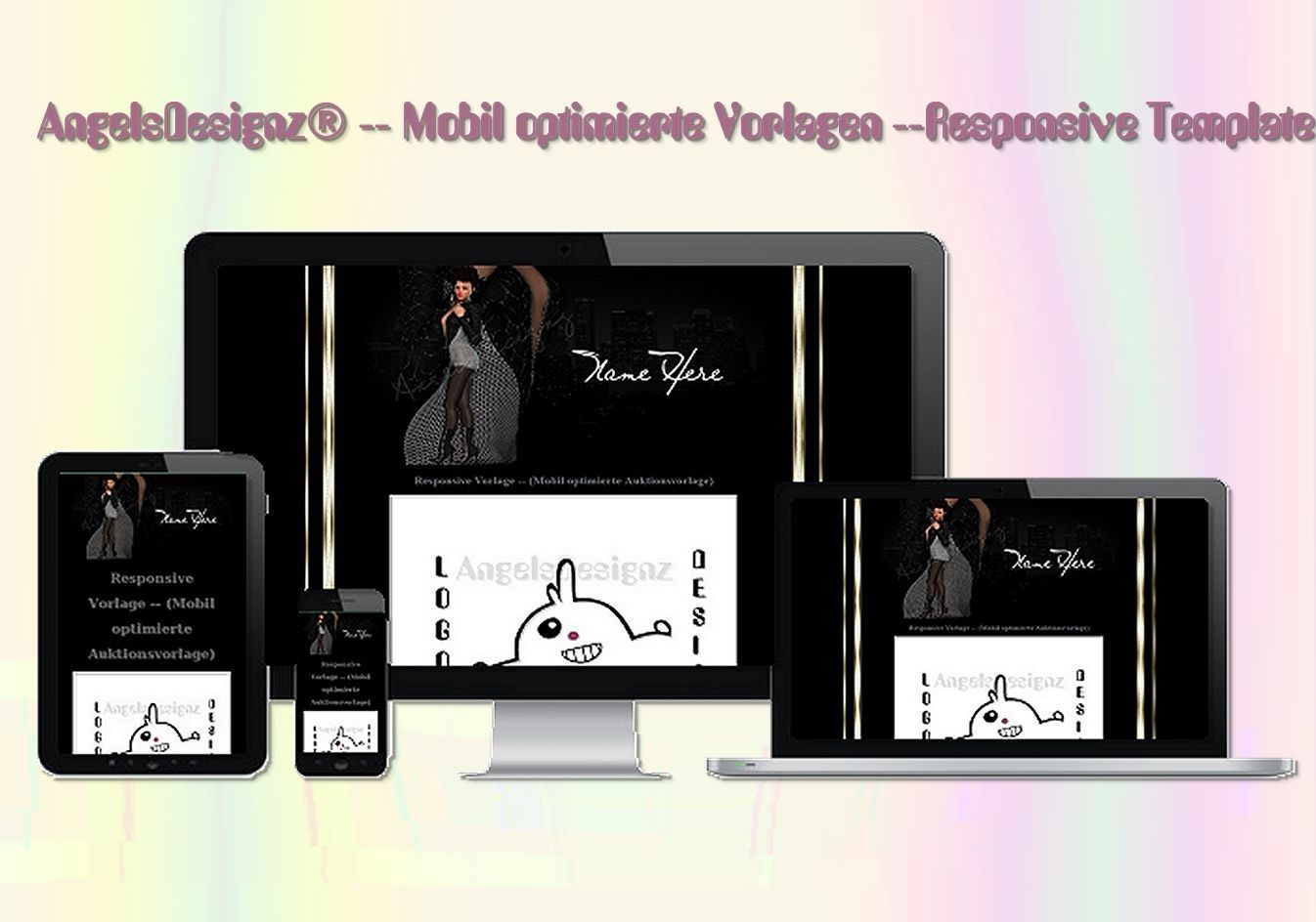 Responsive Vorlage Young Fashion Mode - test