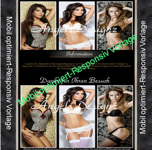 Responsive template lingerie