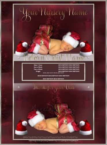 Exclusiv little Christmas Santa limited