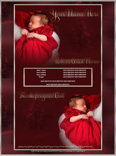 Exclusiv little Christmas Santa Angel limited